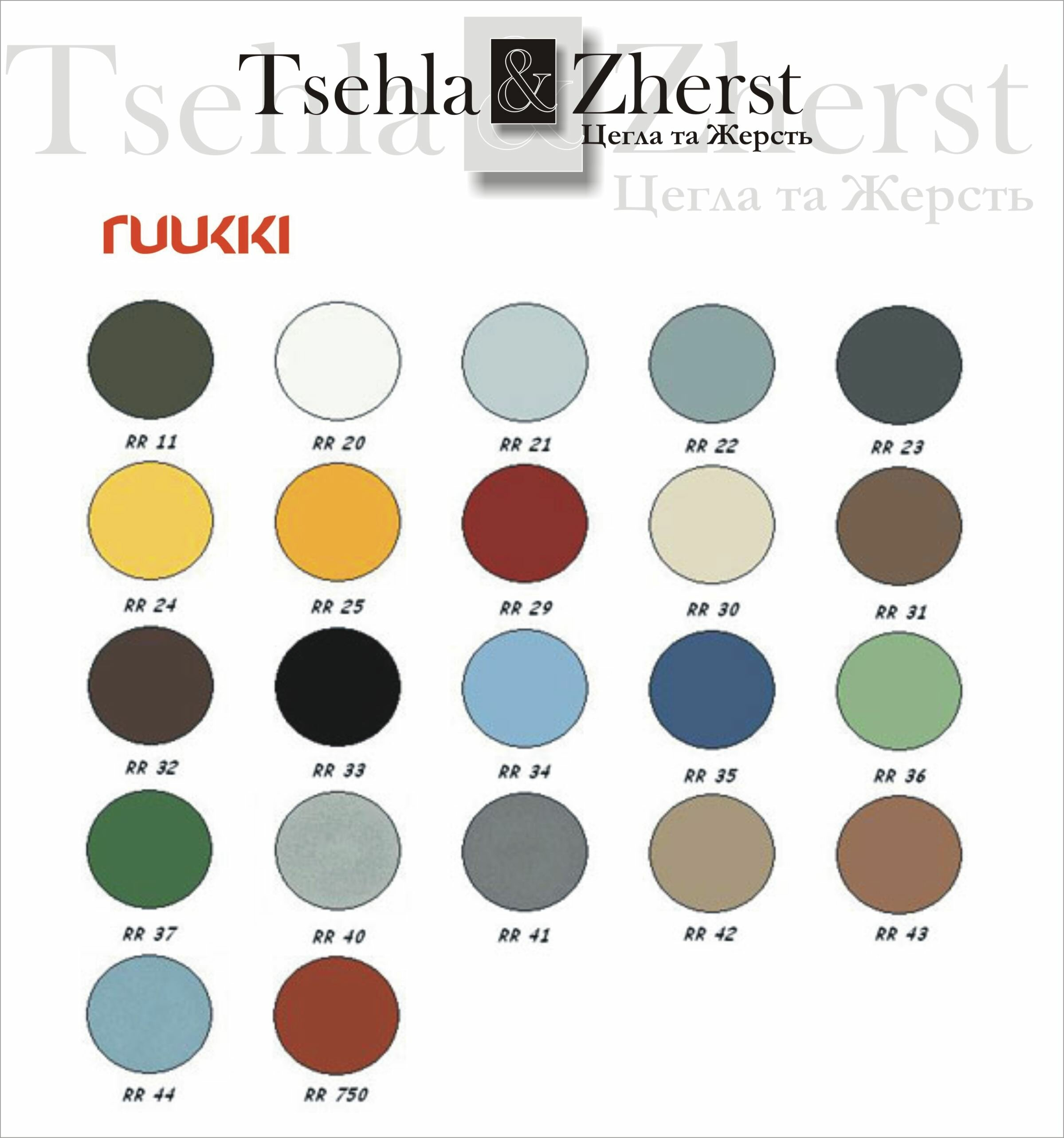 Ruukki colors